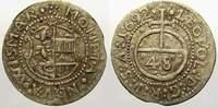 1/48 Taler 1692 Mecklenburg-Wismar, Stadt Karl XI. 1660-1697. Sehr schön  50,00 EUR  zzgl. 5,00 EUR Versand