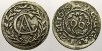1/96 Taler 1675  G Mecklenburg-Güstrow Gustav Adolf 1636-1695. Selten i... 125,00 EUR  + 5,00 EUR frais d'envoi