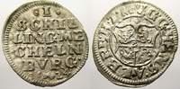 Schilling 1624 Mecklenburg-Güstrow Johann Albrecht II. 1611-1636. Leich... 106.57 US$ 95,00 EUR  +  11.22 US$ shipping