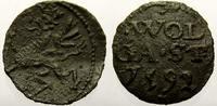 Kupfer Scherf 1592 Pommern-Wolgast Ernst Ludwig 1569-1592. Sehr schön  45,00 EUR  zzgl. 5,00 EUR Versand