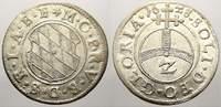 2 Kreuzer (Halbbatzen) 1628 Bayern Maximilian I., als Kurfürst 1623-165... 50,00 EUR  + 5,00 EUR frais d'envoi