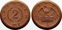 2 Mark 1921 Freistadt Sachsen Notmünzen aus Böttger-Steinzug Vorzüglich... 5,00 EUR  + 5,00 EUR frais d'envoi