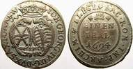 1/12 Taler 1694 Sachsen-Albertinische Linie Johann Georg IV. 1691-1694.... 30,00 EUR  + 5,00 EUR frais d'envoi