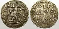 Albus 1703 Hessen-Darmstadt Ernst Ludwig 1678-1739. Selten. Sehr schön+  60,00 EUR  + 5,00 EUR frais d'envoi