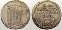 1 Kreuzer 1765  N Schwarzenberg Josef Adam 1732-1782. Sehr schön+  85,00 EUR  Excl. 5,00 EUR Verzending