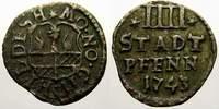 4 Stadtpfennig (Matthier) 1737 Hildesheim, Stadt  Sehr schön+  30,00 EUR  Excl. 5,00 EUR Verzending