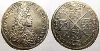 2/3 Taler 1692  I Sachsen-Albertinische Linie Johann Georg IV. 1691-169... 175,00 EUR  Excl. 5,00 EUR Verzending