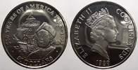 50 Dollars 1989 Cook-Inseln Elizabeth II. seit 1952. Polierte Platte, l... 25,00 EUR  Excl. 5,00 EUR Verzending