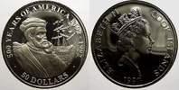 50 Dollars 1990 Cook-Inseln Elizabeth II. seit 1952. Polierte Platte, m... 23,00 EUR  Excl. 5,00 EUR Verzending