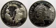 50 Dollars 1991 Cook-Inseln Elizabeth II. seit 1952. Polierte Platte, l... 23,00 EUR  Excl. 5,00 EUR Verzending