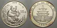 10 Yuan (Panda) 1996 China Volksrepublik seit 1955. Stempelglanz  65,00 EUR  Excl. 5,00 EUR Verzending