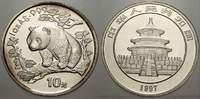 10 Yuan (Panda) 1997 China Volksrepublik seit 1955. Stempelglanz  75,00 EUR  Excl. 5,00 EUR Verzending