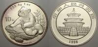 10 Yuan (Panda) 1998 China Volksrepublik seit 1955. Stempelglanz  120,00 EUR  Excl. 5,00 EUR Verzending