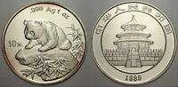 10 Yuan (Panda) 1999 China Volksrepublik seit 1955. Stempelglanz  220,00 EUR  Excl. 5,00 EUR Verzending