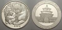 10 Yuan (Panda) 2005 China Volksrepublik seit 1955. Stempelglanz  75,00 EUR  Excl. 5,00 EUR Verzending