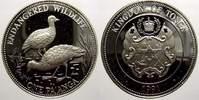 1 Pa´anga 1 1991 Tonga Taufa´ahau Tupou IV. 1965-2006. Polierte Platte  26.63 US$ 25,00 EUR  +  10.65 US$ shipping