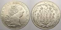 1/3 Taler 1771  A Brandenburg-Preußen Friedrich II. 1740-1786. Selten i... 295,00 EUR kostenloser Versand