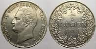 1/2 Gulden 1838 Hessen-Darmstadt Ludwig II. 1830-1848. Sehr schön-vorzü... 75,00 EUR  zzgl. 5,00 EUR Versand