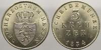 3 Kreuzer 1834 Hessen-Darmstadt Ludwig II. 1830-1848. Selten in dieser ... 150,00 EUR  zzgl. 5,00 EUR Versand