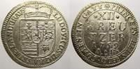 12 Kreuzer 1759  AK Hessen-Darmstadt Ludwig VIII. 1739-1768. Min. Schrö... 95,00 EUR  zzgl. 5,00 EUR Versand