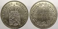 6 Kreuzer 1866 Hessen-Darmstadt Ludwig III. 1848-1877. Sehr schön-vorzü... 15,00 EUR  zzgl. 5,00 EUR Versand