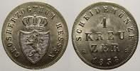 1 Kreuzer 1838 Hessen-Darmstadt Ludwig II. 1830-1848. Winziger Kratzer.... 45,00 EUR  zzgl. 5,00 EUR Versand