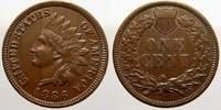 One Cent 1886 Vereinigte Staaten von Amerika  Vorzüglich  69.23 US$ 65,00 EUR  +  10.65 US$ shipping