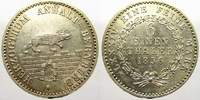 1/6 Taler 1856  A Anhalt-Bernburg Alexander Carl 1834-1863. Vorzüglich ... 40,00 EUR  zzgl. 5,00 EUR Versand