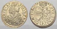 3 Kreuzer 1665 Haus Habsburg Erzherzog Sigismund Franz 1663-1665. Stemp... 117.15 US$ 110,00 EUR  +  10.65 US$ shipping
