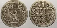 1 Kreuzer 1721 Hessen-Darmstadt Ernst Ludwig 1678-1739. Sehr schön+  20,00 EUR  zzgl. 5,00 EUR Versand