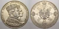 Krönungstaler 1 1861  A Brandenburg-Preußen Wilhelm I. 1861-1888. Fast ... 45,00 EUR  zzgl. 5,00 EUR Versand