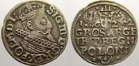 3 Gröscher 1 1622 Polen Sigismund III. 1587-1632. Sehr schön+  25,00 EUR  zzgl. 5,00 EUR Versand