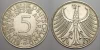 5 DM 1958  G Bundesrepublik Deutschland  Vorzüglich+  50,00 EUR  zzgl. 5,00 EUR Versand
