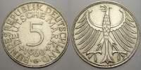 5 DM 1960  G Bundesrepublik Deutschland  Vorzüglich  25,00 EUR  zzgl. 5,00 EUR Versand