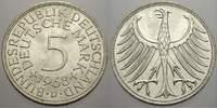 5 DM 1968  D Bundesrepublik Deutschland  Bankfrisch  /  Stempelglanz  31.85 US$ 30,00 EUR  +  10.62 US$ shipping