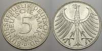 5 DM 1968  D Bundesrepublik Deutschland  Bankfrisch  /  Stempelglanz  30,00 EUR  zzgl. 5,00 EUR Versand