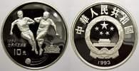 10 Yuan 1993 China Volksrepublik seit 1955. Polierte Platte  35,00 EUR  zzgl. 5,00 EUR Versand