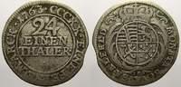 1/24 Taler (Groschen) 1763 Sachsen-Coburg-Saalfeld Franz Josias 1745-17... 1919 руб 30,00 EUR  +  640 руб shipping