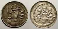 Denar 1058-1080 Polen Boleslaw II, 1058-1080. Sehr selten in dieser Erh... 1250,00 EUR kostenloser Versand