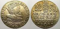 3 Gröscher 1 1594 Polen Sigismund III. 1587-1632. Sehr selten. Vorzügli... 650,00 EUR kostenloser Versand