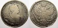 Poltina (1/2 Rubel) 1738 Russland Zarin Anna Ivanovna 1730-1740. Selten... 325,00 EUR kostenloser Versand