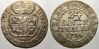 1/24 Taler 1754  FW Sachsen-Albertinische Linie Friedrich August II. 17... 35,00 EUR  zzgl. 5,00 EUR Versand