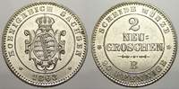 2 Neugroschen 1863  B Sachsen-Albertinische Linie Johann 1854-1873. Fas... 30,00 EUR  zzgl. 5,00 EUR Versand
