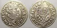 3 Kreuzer 1614 Schlesien-Münsterberg-Öls Karl II. 1587-1617. Min. Schrö... 65,00 EUR  zzgl. 5,00 EUR Versand