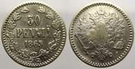 50 Penniä 1 1865  S Russland Zar Alexander II. 1855-1881. Sehr schön  35,00 EUR  zzgl. 5,00 EUR Versand