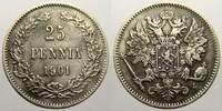 25 Penniä 1 1901  L Russland Zar Nikolaus II. 1894-1917. Sehr schön-vor... 15,00 EUR  zzgl. 5,00 EUR Versand