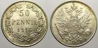 50 Penniä 1 1916  S Russland Zar Nikolaus II. 1894-1917. Fast stempelgl... 20,00 EUR  zzgl. 5,00 EUR Versand