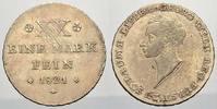 1/2 Konv.-Taler 1821 Schaumburg-Lippe Georg Wilhelm 1807-1860. Leicht j... 270,00 EUR free shipping