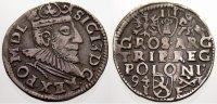 3 Gröscher 1594  I Polen Sigismund III. 1587-1632. Sehr selten. Sehr sc... 125,00 EUR  +  5,00 EUR shipping