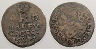 Bhmen Maleygroschen. 0, 84 g. Rudolf II, 1576-1612.